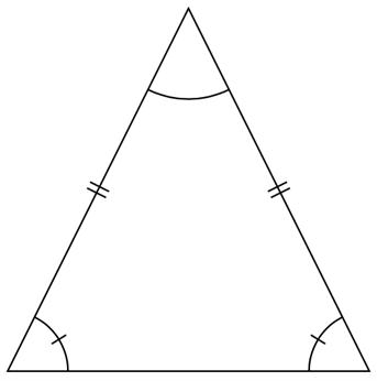 Likbent triangel formel